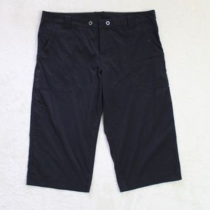 Lucy Womens Black Cargo Shorts Size Large